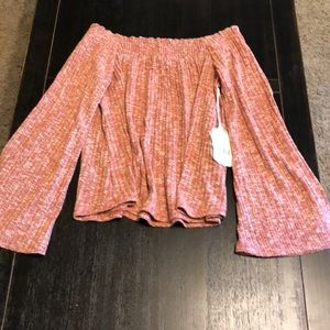 NWT - Altar's State Off Shoulder Sweater